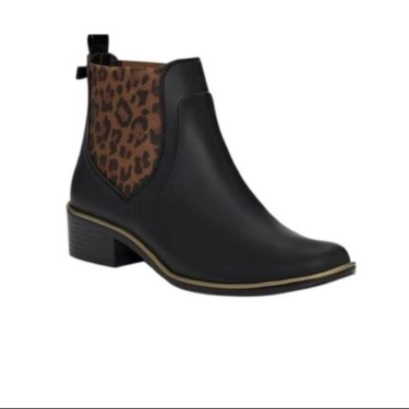 kate spade leopard boots